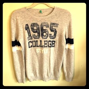 United color of Benetton sweater, size 14